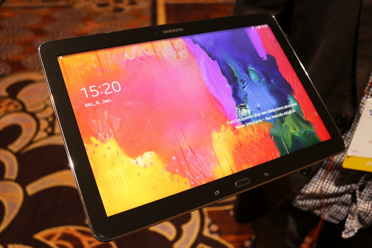 CES 2014: Samsung Galaxy Note PRO 12.2 im Hands-on