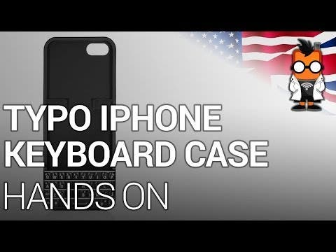TYPO Keyboard iPhone 5 Case