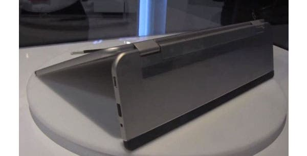 CES 2014: Toshiba 5-in-1'Shape shifting'-Konzept-PC im Hands-on