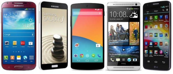 Best 5-inch Android Smartphones