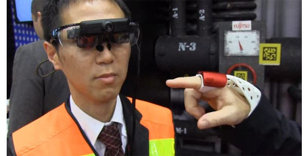 MWC 2014: Fujitsu demonstriert Wearable-Handschuh und NFC-Ring [Video]