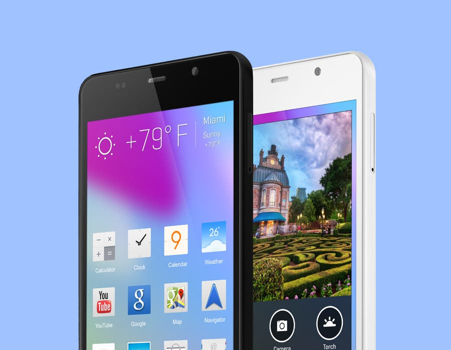 BLU Life Pure Mini – 4.5inch 720p Smartphone mit Quadcore-SoC im iPhone 5C Look