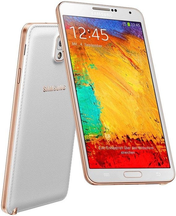 samsung galaxy note 3 gold weiss 1