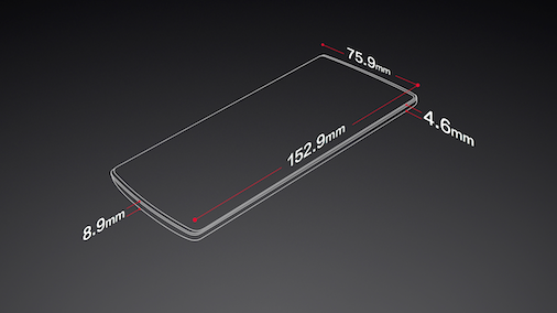 OnePlus One Dimensions