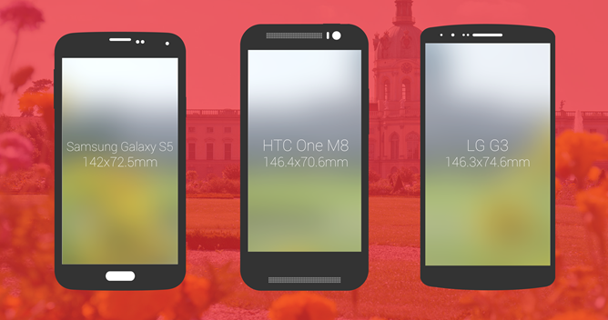 Galaxy S5 vs HTC One vs LG G3