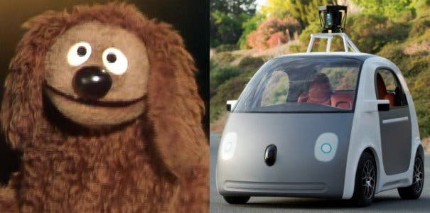 Google Car Rowlf