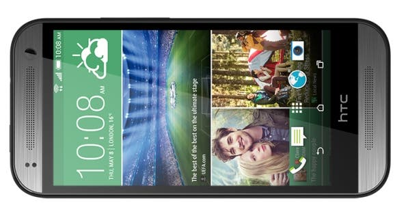 HTC One mini 2 front