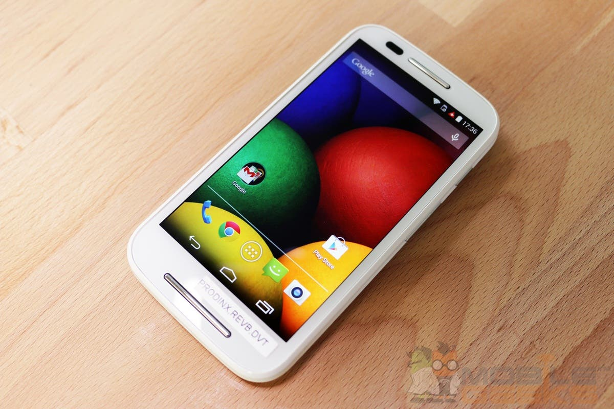 Motorola Moto E: Hands-on-Fotos des Einsteiger-Smartphones *Update: Video*