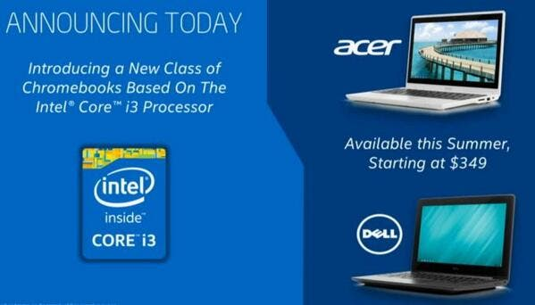 haswell chromebooks announcements