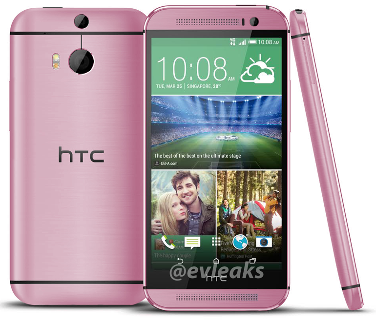 htc one m8 pink