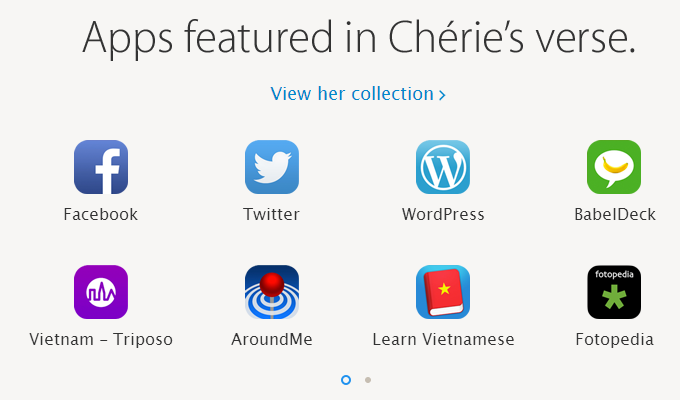 iPad Air Cherie Apps