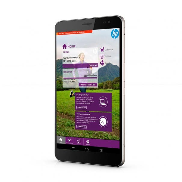 HP Slate 7 3901fr VoiceTab Ultra Product Shot