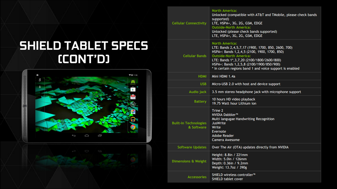 NVIDIA Shield Tablet 06