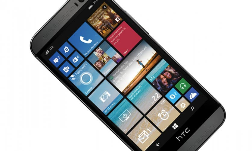 HTC One M8 mit Windows Phone von vorn