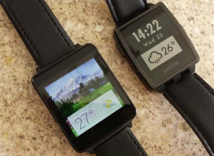 Rant: LG G Watch mit Android Wear vs Pebble im Alltag