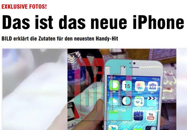 iPhone 6 fake e