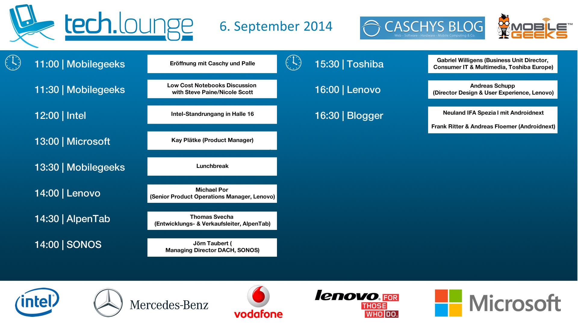 CeBIT 2014 Timetable - Day 2-2