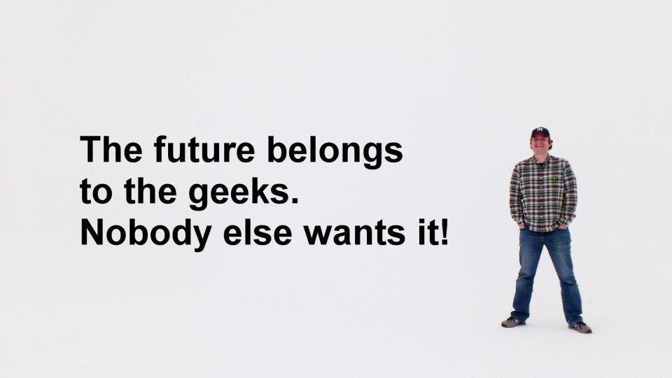 """The Future belongs to the Geeks"" – Mein TEDx Muenster Talk ist online"