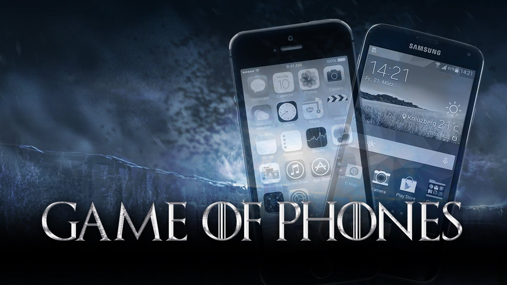 Game of Phones: Apple iPhone 6-Fan vs Samsung Galaxy-Anhänger
