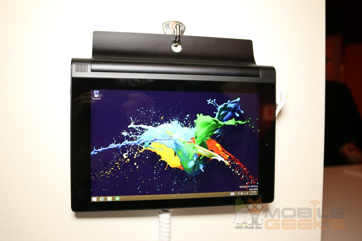 Lenovo Yoga Tablet 2 8: Das neue Windows-Tablet im Hands on-Video