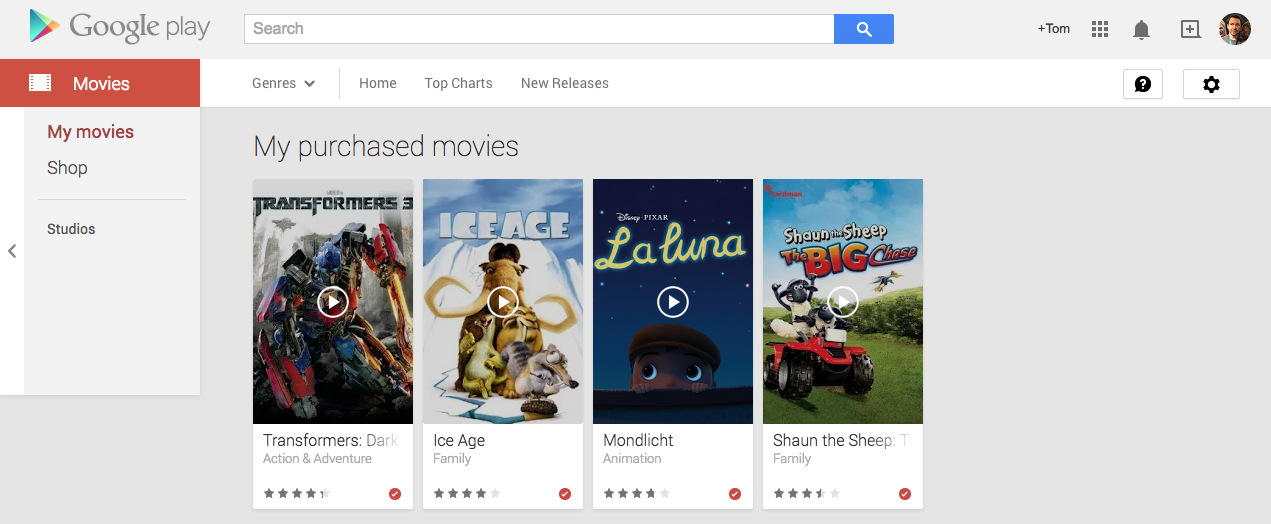 Google verschenkt wieder Filme: Play Movies Freebies