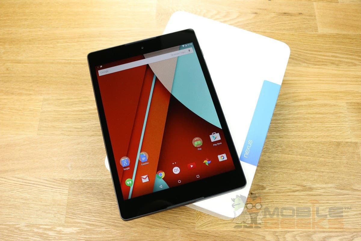 "Google Nexus 9 Test – HTCs Android 5.0 ""Lollipop"" Tablet"
