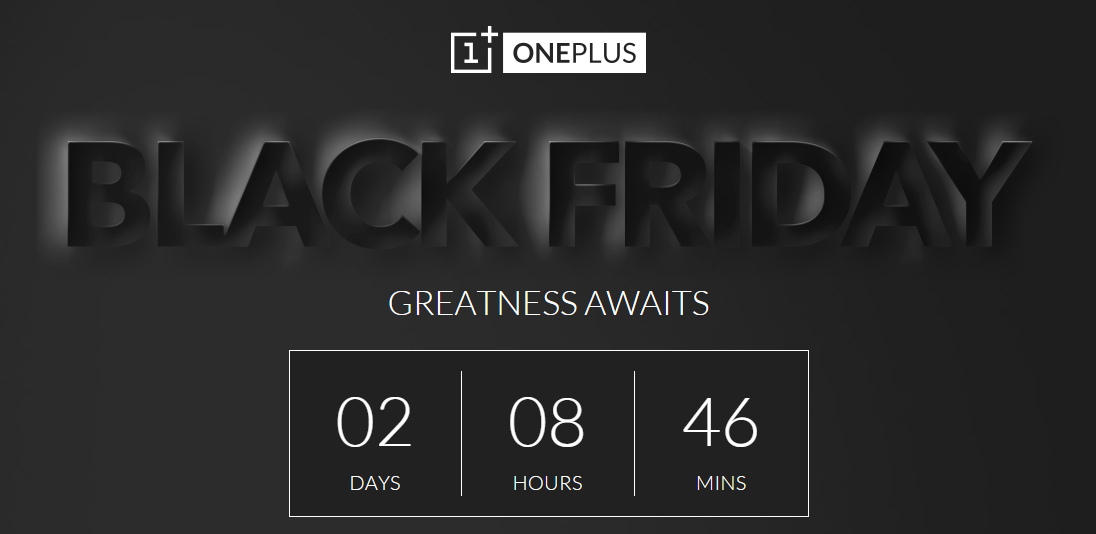 OnePlus Black Friday Countdown