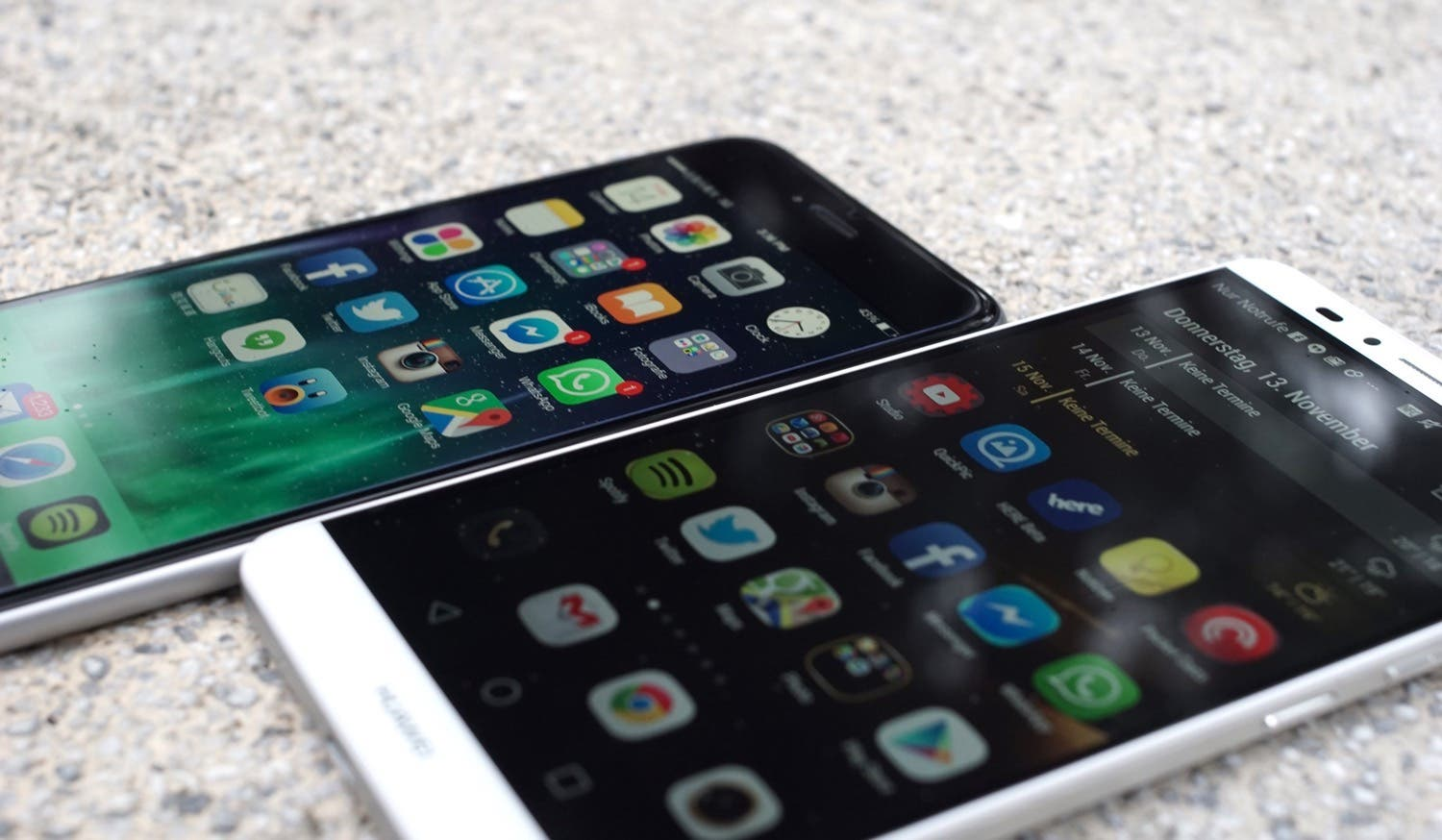 Doppeltest: iPhone 6 Plus vs. Huawei Ascend Mate 7
