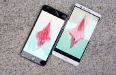 iPhone 6 Plus Huawei Ascend Mate 7 Display volle Helligkeit draussen