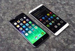 iPhone 6 Plus Huawei Ascend Mate 7 Vergleichstest