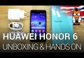 Huawei Honor 6 – Unboxing & Hands On [ENGLISH]