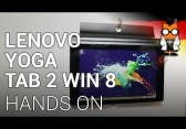 Lenovo Yoga Tablet 2 8 mit Windows im Hands-On [DEUTSCH]