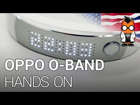 OPPO O-Band fitness tracker hands on [ENGLISH]