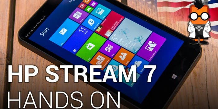 HP Stream 7 – 99 dollar tablet with Windows 8.1 – Hands on [ENGLISH]