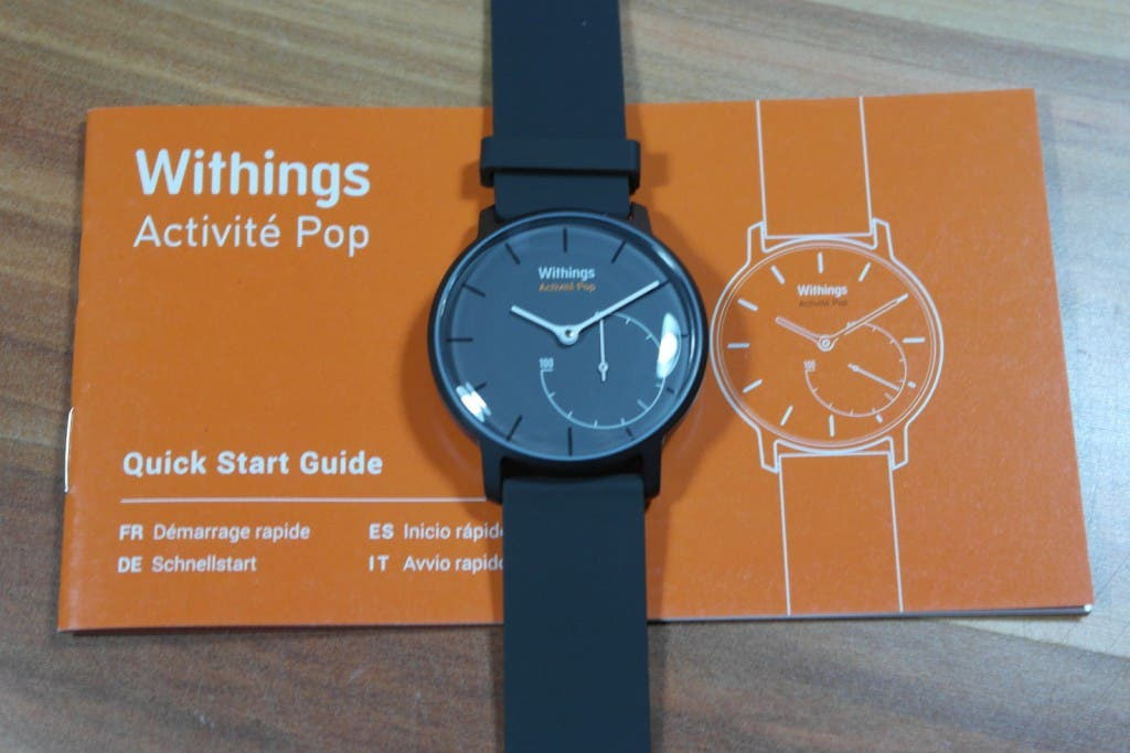 WIthings Activité Pop  Quick Start Guide