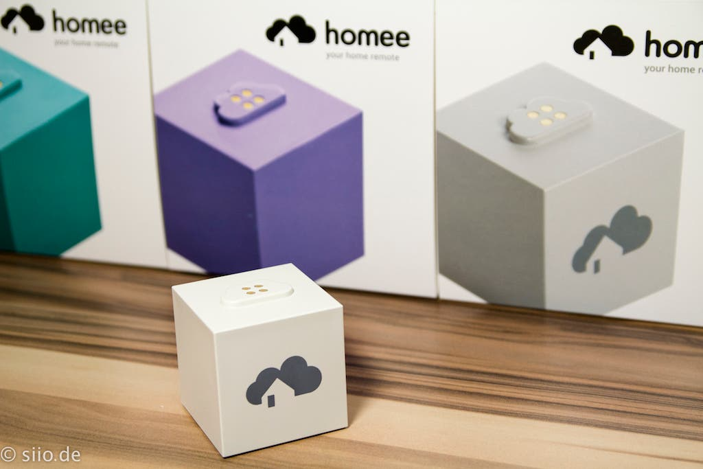 Homee Brain Cube - unboxed
