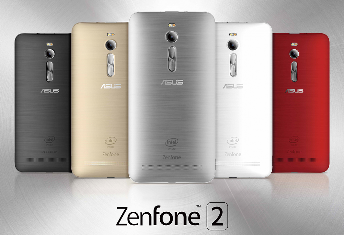 ASUS ZenFone 2 color line up 2 klein