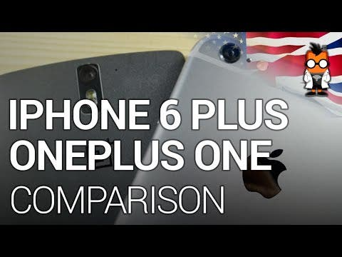 Apple iPhone 6 Plus vs OnePlus One [English]