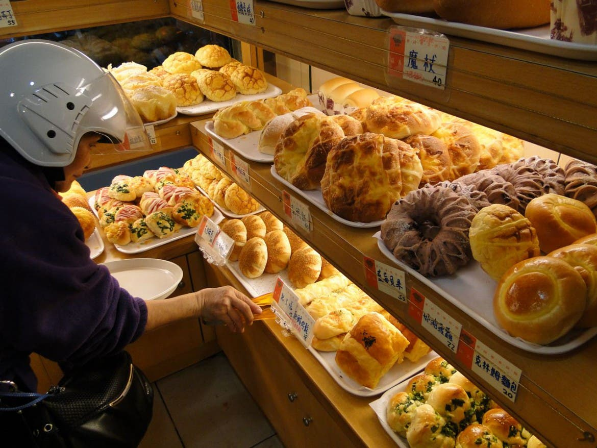 Bäckerei in Taiwan