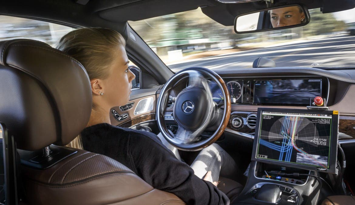 Mercedes S500 Intelligence Drive 16