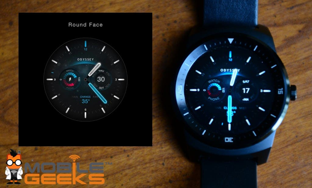 Odyssey Watchface Android Round