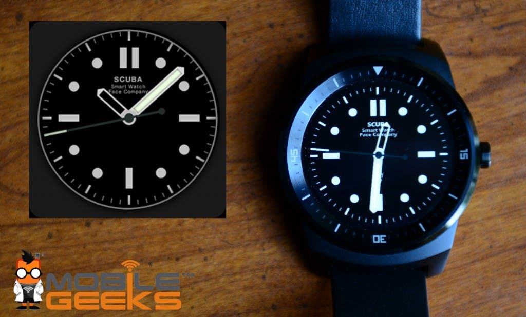 Scuba Watchface Android Round