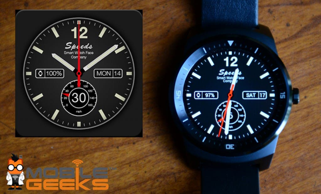 Speeds Pro Android Watchface Round