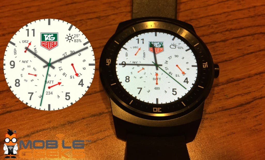 TAG Heuer Watchface