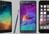 Xiaomi Mi Note Pro vs Apple iPhone 6 Plus vs Samsung Galaxy Note 4 – Wer baut das beste Phablet?