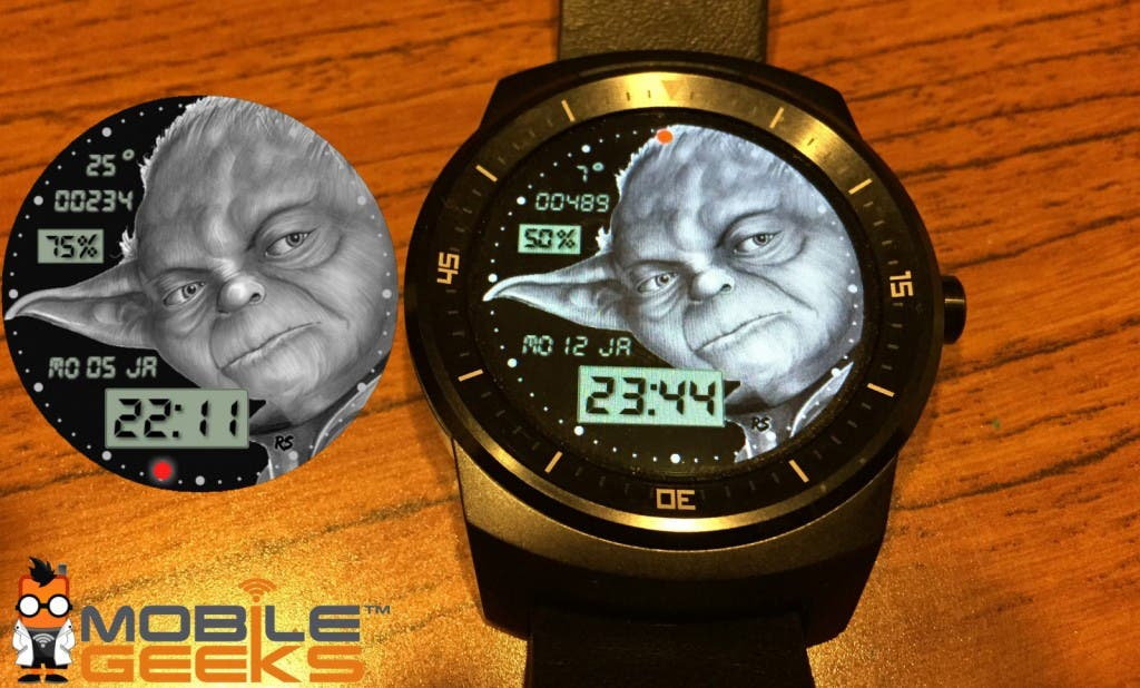 Yoda Clock Watchface