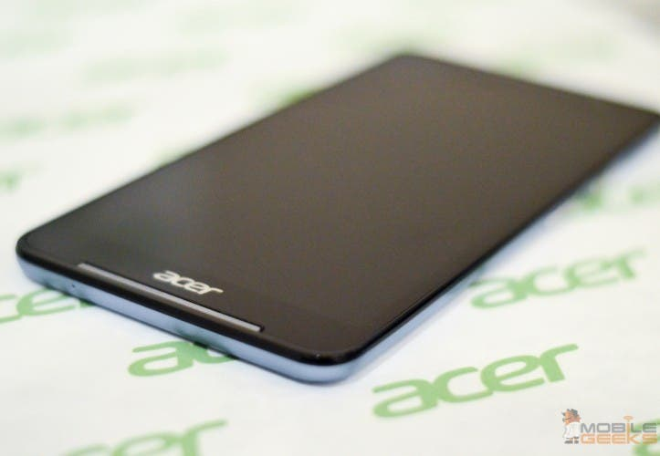 Acer Iconia Talk S Tablet mit Telefon-Funktion im Hands on bei der CES