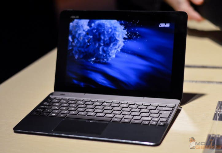 ASUS Transformer Book T100 Chi im Hands on auf der CES 2015