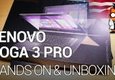 Lenovo Yoga 3 Pro mit Intel Core M Unboxing und Hands-On [English]