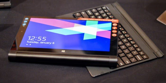 Lenovo Yoga Tablet 2 mit AnyPen-Technologie im Hands on auf der CES